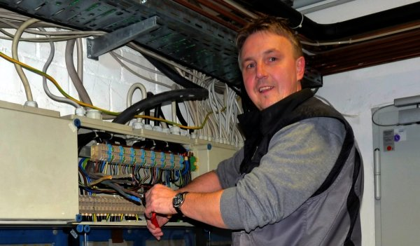 Elektromeister Ralf Möller